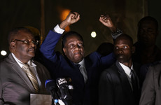 Zimbabwe's new president promises 'full democracy' in address to jubilant crowds