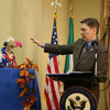Dustin the Turkey has been pardoned by the US ambassador ahead of Thanksgiving