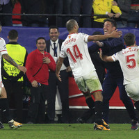 Sevilla coach told his players he has cancer before second-half comeback against Liverpool