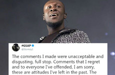 People are praising Stormzy for his honest apology after homophobic tweets of his surfaced