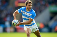 Argentina wait to hear if veteran out-half Hernandez is fit to face Ireland