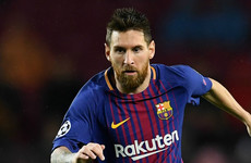 Surprise as Lionel Messi not included in Barcelona XI to face Juventus