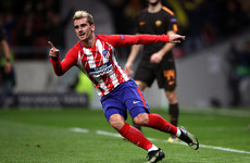 Griezmann brilliance keeps Atleti's Champions League hopes alive
