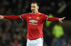 United may have lost last night but Zlatan made some Champions League history