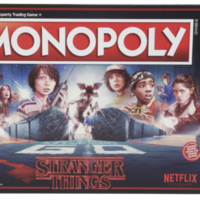 You can now get Stranger Things Monopoly (with Upside Down tokens) in Easons