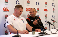 Hartley benched by England head coach Eddie Jones for the first time