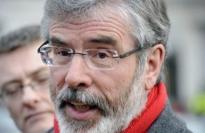 Gerry Adams calls for 'austerity' treaty to be rejected