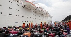 In pictures: Passengers finally escape crippled Costa Allegra