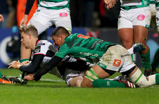 Late Trimble try rescues unconvincing Ulster from Italian heartbreak