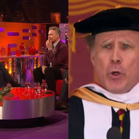 Will Ferrell told the story of how he ended up singing Whitney Houston at a graduation on Graham Norton last night