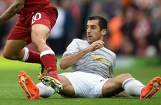 Mourinho slams Mkhitaryan for disappearing during games