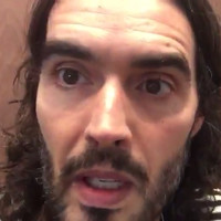 Russell Brand couldn't believe how calm one Irishman was during the London lockdown yesterday