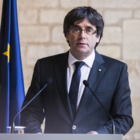 'We must ratify this': Deposed Catalan leader Carles Puigdemont launches election campaign