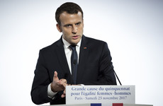 'Our entire society is sick with sexism' - Macron promises laws to fight violence against women