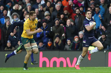 Sensational Scotland run riot against Wallabies
