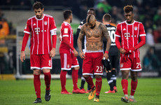 Bayern Munich suffer first defeat under Heynckes