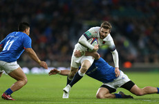 Daly at the double as England overpower Samoa