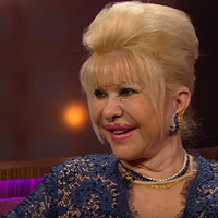 Ivana Trump had a cutting one-liner when asked about Melania on the Ray D'Arcy Show