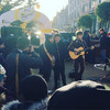 17 bands - including The Strypes and Delorentos - busked one after another on Grafton Street yesterday