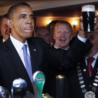 Barack O'Bama launches Irish-American Heritage Month