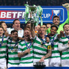 Forrest and Dembele on target as Celtic toast Scottish League Cup success