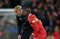 Mané admits argument with Klopp was tactical but insists there's 'no problem' between them