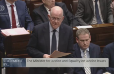 Charlie Flanagan apologises to Taoiseach and Dáil for giving 'inaccurate' information