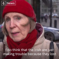 'The Irish are just making trouble because they lost, it's a bit petty isn't it, really?': The week in quotes