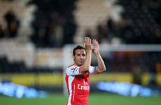Fears for Santi Cazorla's career as Arsenal midfielder suffers fresh injury setback