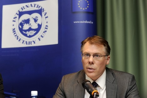 Craig Beaumont speaking at a press conference earlier this year
