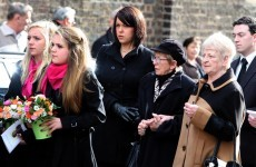 In pictures: Mourners pay tribute to comic legend Frank Carson
