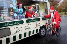 Ireland's largest Santa cycle takes place today