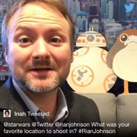 Star Wars director Rian Johnson heaped praise on Ireland as the best filming location in The Last Jedi