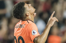 20-year-old striker starts as Mo Salah benched by Liverpool