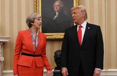 Theresa May says Trump's retweets of Britain First were 'wrong' - but he's still welcome to visit