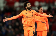 Unstoppable Salah comes off the bench to score brilliant brace as Liverpool overcome Stoke