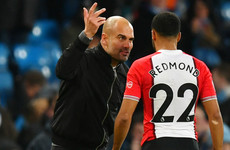 'I was telling Redmond how good he is' - Pep plays down pitchside clash