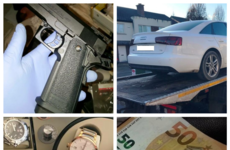 Cash, cars, imitation firearm and high value watches seized in Garda raids targeting 'ghost brokers'