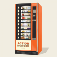 A UK charity is providing vending machines for the homeless