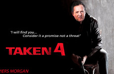 Piers Morgan went full Liam Neeson from Taken on Twitter and was mercilessly ripped for it