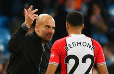 Southampton winger Redmond slams The Sun and clears up what Pep said to him
