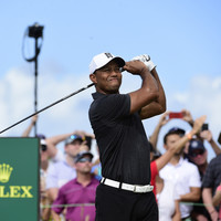 He's back, baby! Tiger Woods shoots opening-round 69 in promising return