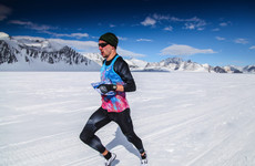 'It was like running on the moon' - The Irishman who ran the fastest Antarctic mile