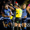Cardiff see controversial red as Warriors stay perfect
