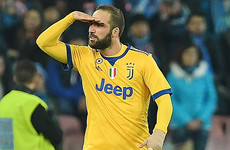 Higuain boosts Juve title defence against former club
