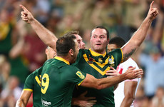 Kangaroos edge out England to retain Rugby League World Cup