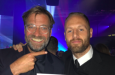 Klopp meets his idol David Meyler - it's the sporting tweets of the week