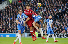 As it happened: Brighton vs Liverpool, Premier League