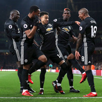 Lingard double sees Man United overcome Arsenal in the game of the season so far