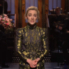 Saoirse Ronan performed a song about sexual harassment on Saturday Night Live